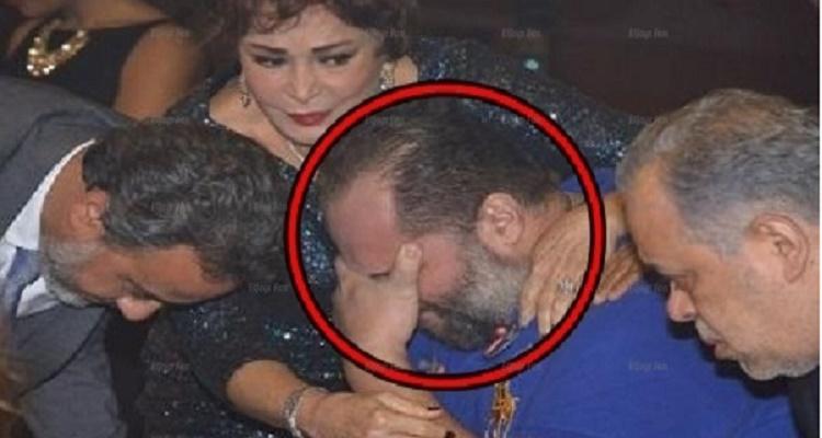 تصرف غير متوقع من نجل محمود عبد العزيز لحظة تلقيه خبر وفاة والده داخل المستشفى