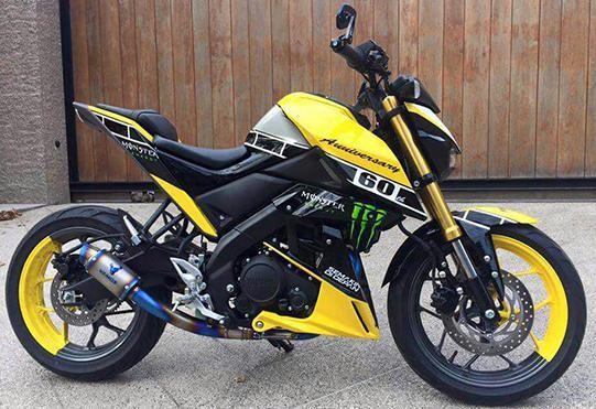 Modifikasi Yamaha Xabre terbaru