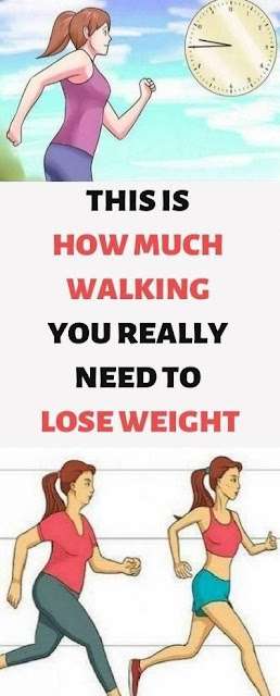 This Is How Much Walking, You Really Need To Lose Weight!!!
