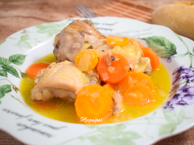 Pollo en Salsa de Naranja. Vídeo Receta