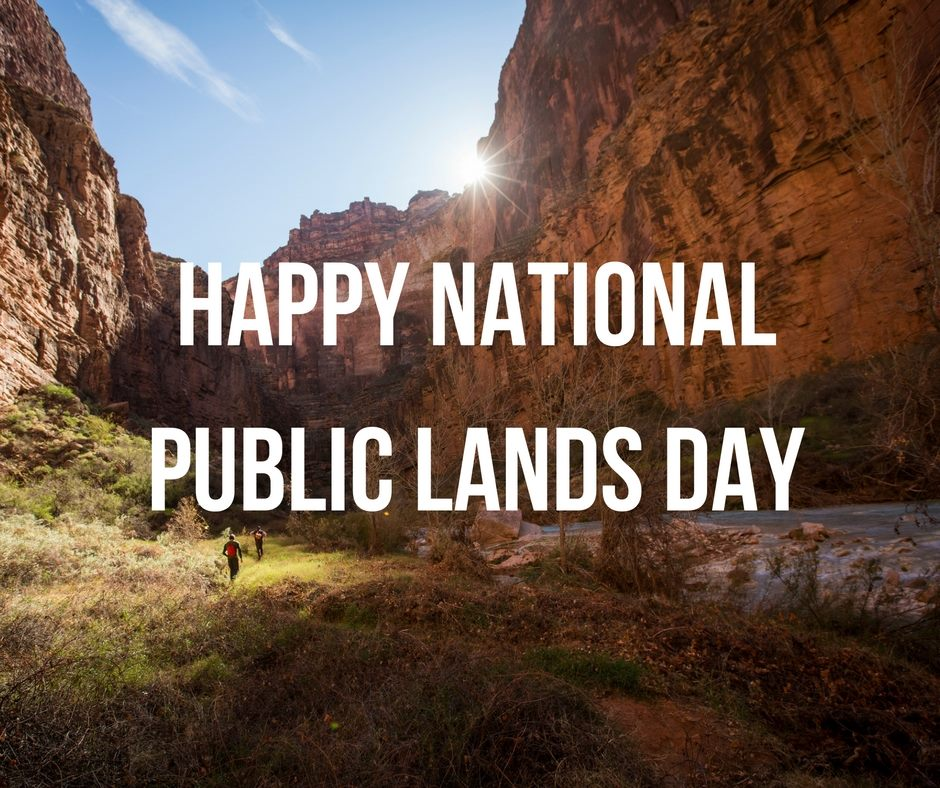 National Public Lands Day Wishes Awesome Picture