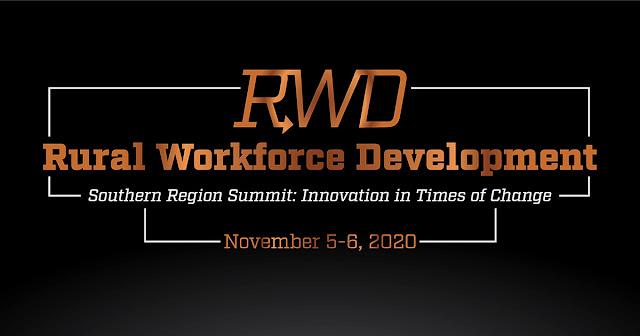 graphic reading Rural Workforce Development Summit