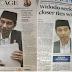 Wajah Joko Widodo Terpampang Di Halaman Depan Surat Kabar Australia