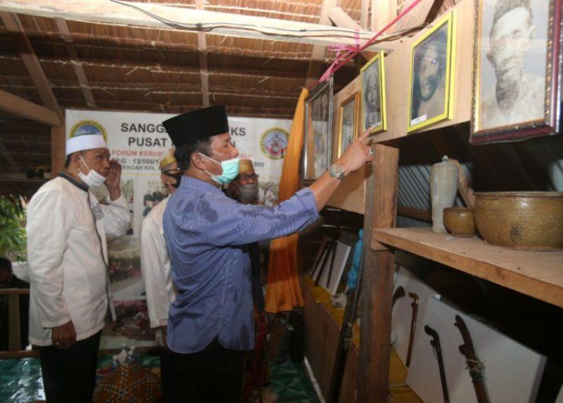 Rudi Resmikan Sanggar Budaya Forum Kerukunan Keluarga Selayar di Nongsa