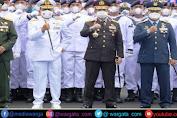 Kapolda Sulsel Hadiri Pelantikan Siswa Dikmaba dan  Dikmata TNI AL Angkatan XLI Tahun  2021