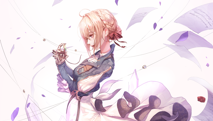 Download Opening-Ending Anime Violet Evergarden - Batch