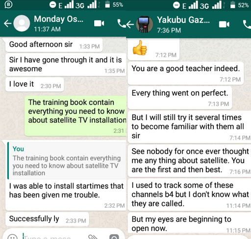Testimony From Our Students