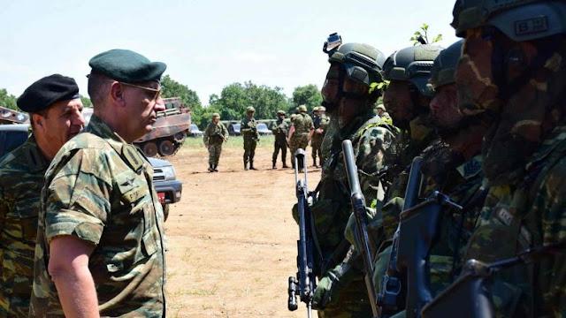 Επισκέψεις με ιδιαίτερο νόημα για τον Διοικητή της 1ης Στρατιάς σε Έβρο - Ξάνθη - Ροδόπη