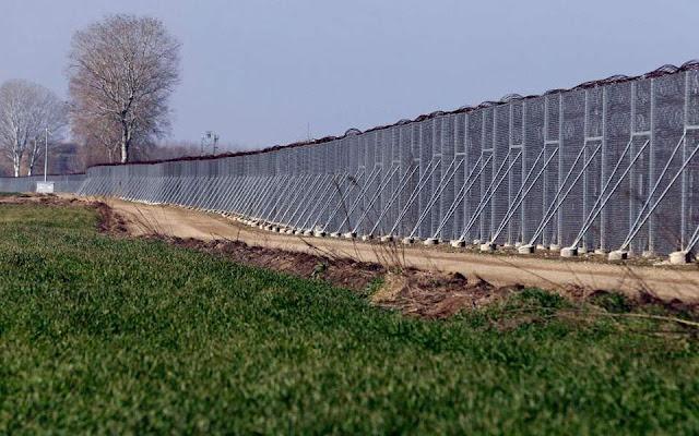 Νέος φράχτης 27 χλμ. στον Έβρο