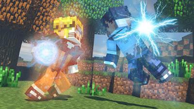 Naruto Minecraft Mod Apk Terbaru 2016