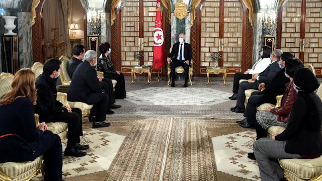 تونس : قيس سعيد يُعرب عن رفضه لكل أشكال العنف خاصة داخل مؤسسات الدولة !