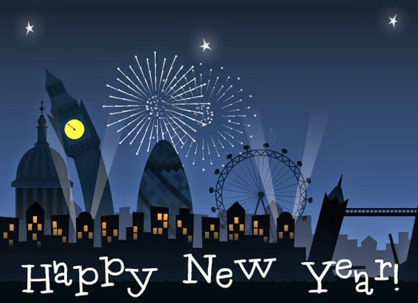Happy New Year 2016 Eve London Celebration Wallpapers