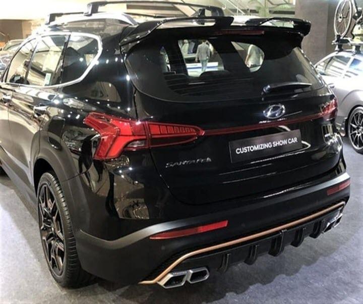 Hyundai SantaFe 2021 có thêm bản độ thể thao N Performance