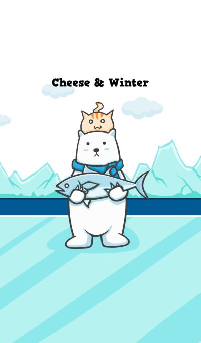 Cat Cheese & Polar bear Winter