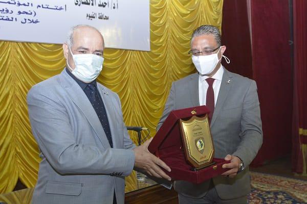 محافظ الفيوم ورئيس جامعة الفيوم يشهدان ختام المؤتمر العلمي التاسع لثقافة القرية