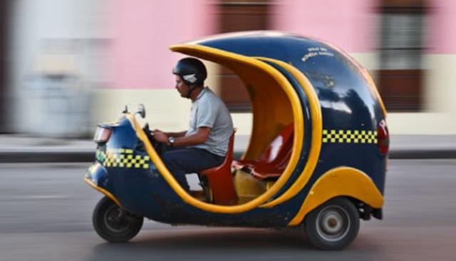 Inilah Sepuluh Moda Transportasi Paling Unik Dari Seluruh Penjuru Dunia