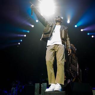 Wizkid Rocking Louis Vuitton Jacket