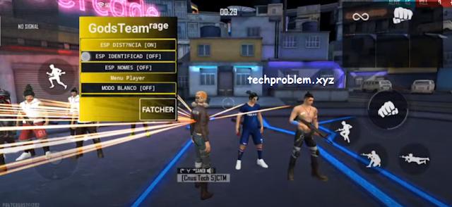 Cheat FF Mod Gods Team Rage Work All Server Teleport Car Anti Blacklist
