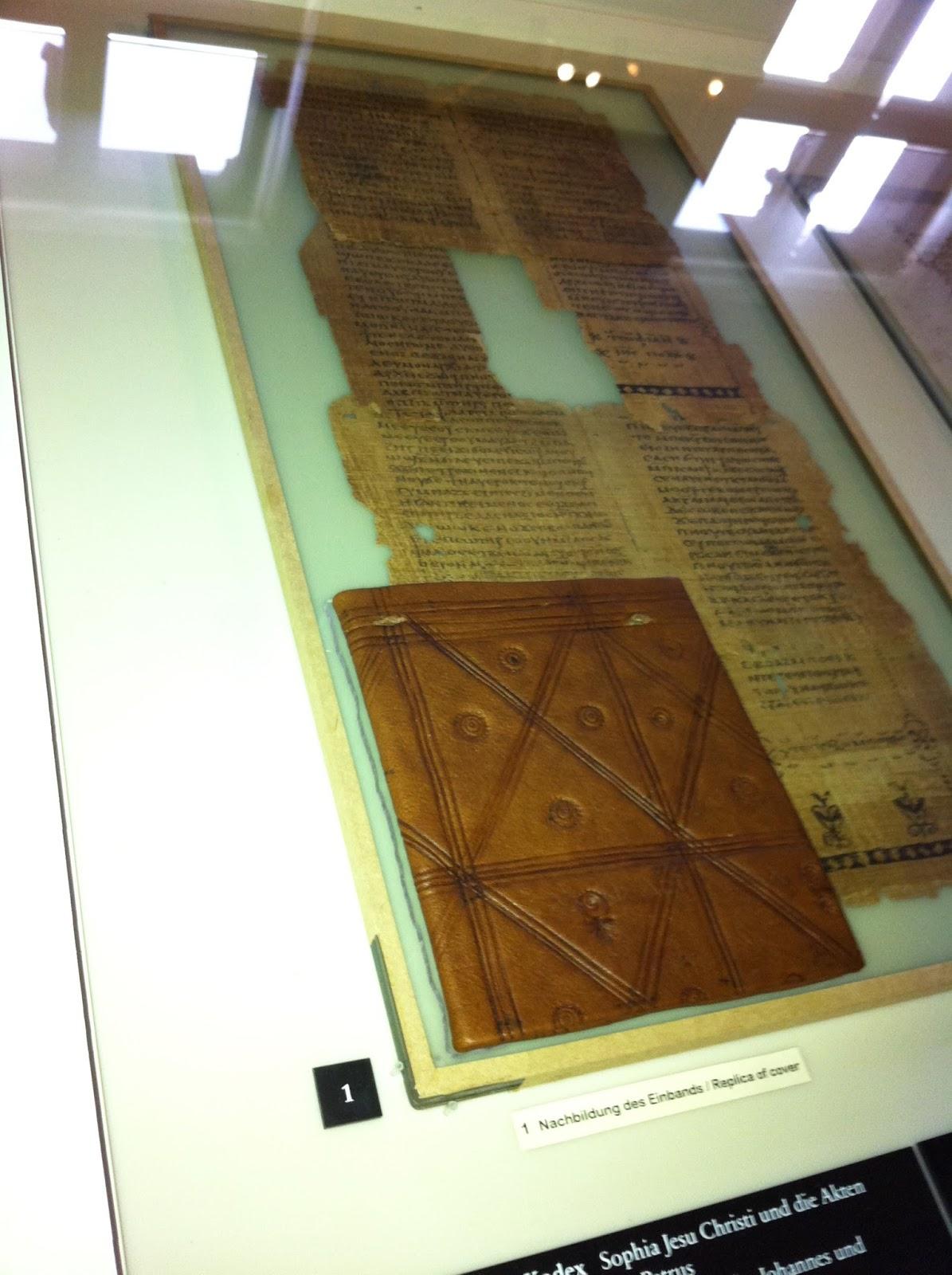 Evangelium der maria magdalena ägyptisches museum berlin