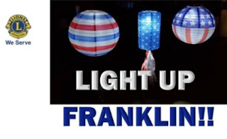 Light Up Franklin for this 4th of July