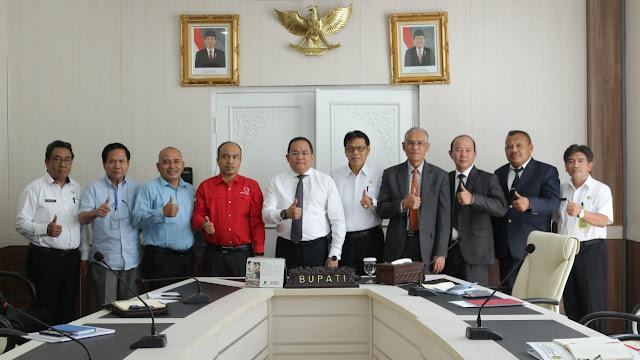 Pemkab Muba Jajaki Kerjasama dengan Medco Power Indonesia