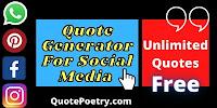 random quote generator free