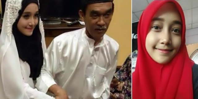Terkejut Pengakuan Gadis 18 Tahun Nikahi Duda 66 Tahun