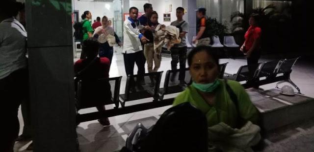 Palu Gempa Lagi, Warga Berhamburan Keluar Rumah, Ini Foto dan Videonya