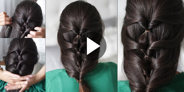Learn - How To Make Quick And Easy Layered Braid Hairstyle, See Tutorial