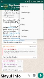 Cara Menonaktifkan Notifikasi Pemberitahuan Grup Whatsapp