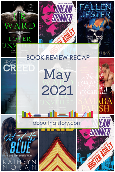 Book Review Recap May 2021 | About That Story