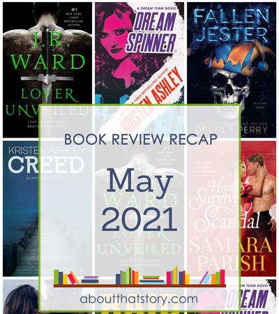 Book Review Recap May 2021