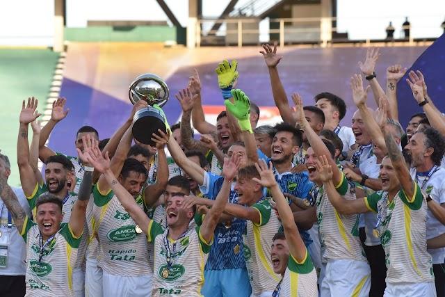 Defensa y Justicia es el nuevo campeón de la Copa Sudamericana