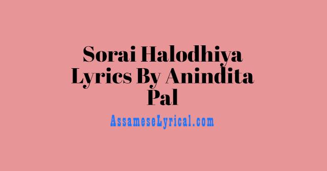 Sorai Halodhiya Lyrics