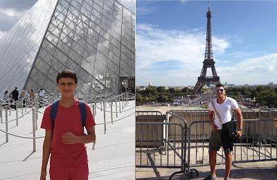 برج إيفل و متحف اللوفر