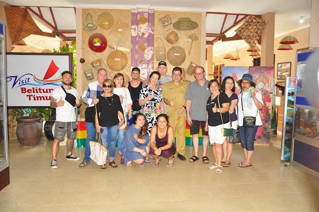Wisman Belanda ke Belitung