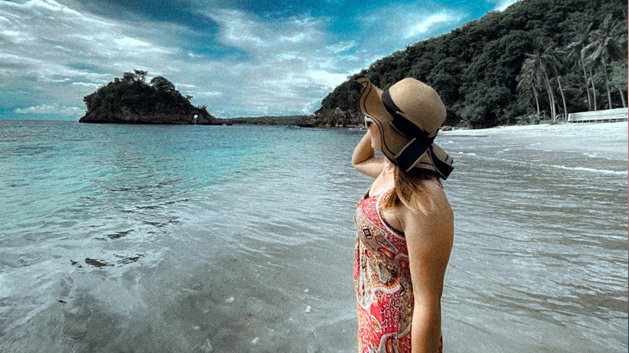 Pantai Crystal Bay Nusa Penida Pesona Alam Crystal Bawah Laut