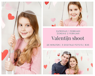Valentijn mini photoshoot Breda