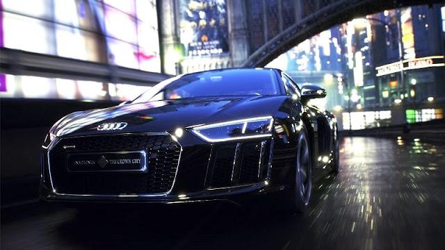 アウディR8 ファイナルファンタジーXV The Audi R8 Star of Lucis CM