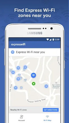 Express Wi-Fi by Facebook Interface