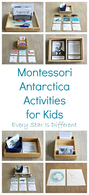 Montessori Antarctica Activities for Kids