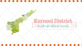Mandals in Kurnool District