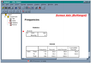output SPSS Viewer