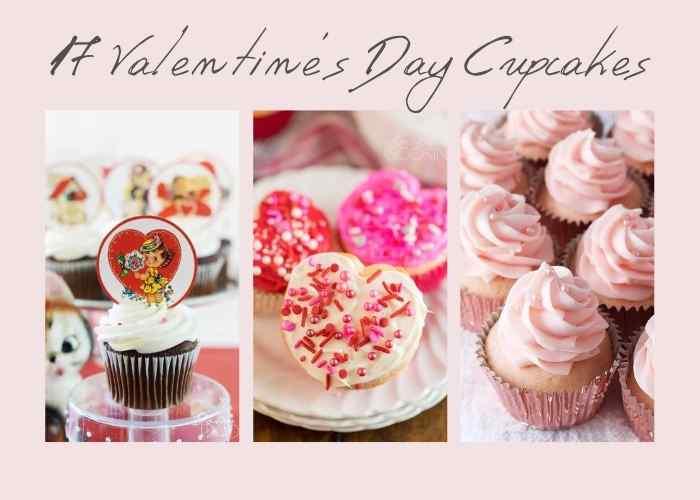Cute Valentine's Day Cupcake Recipe Ideas