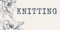 Knitting Button