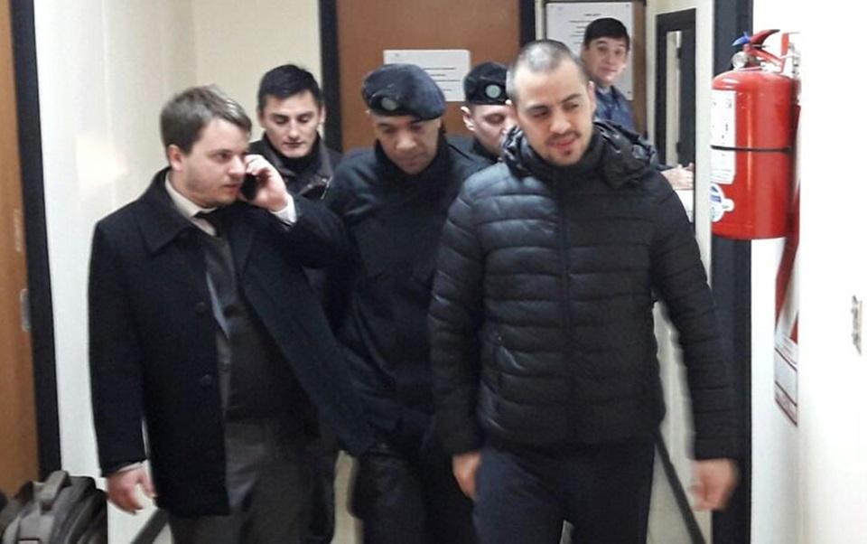 Oficial Balaguer nuevamente preso