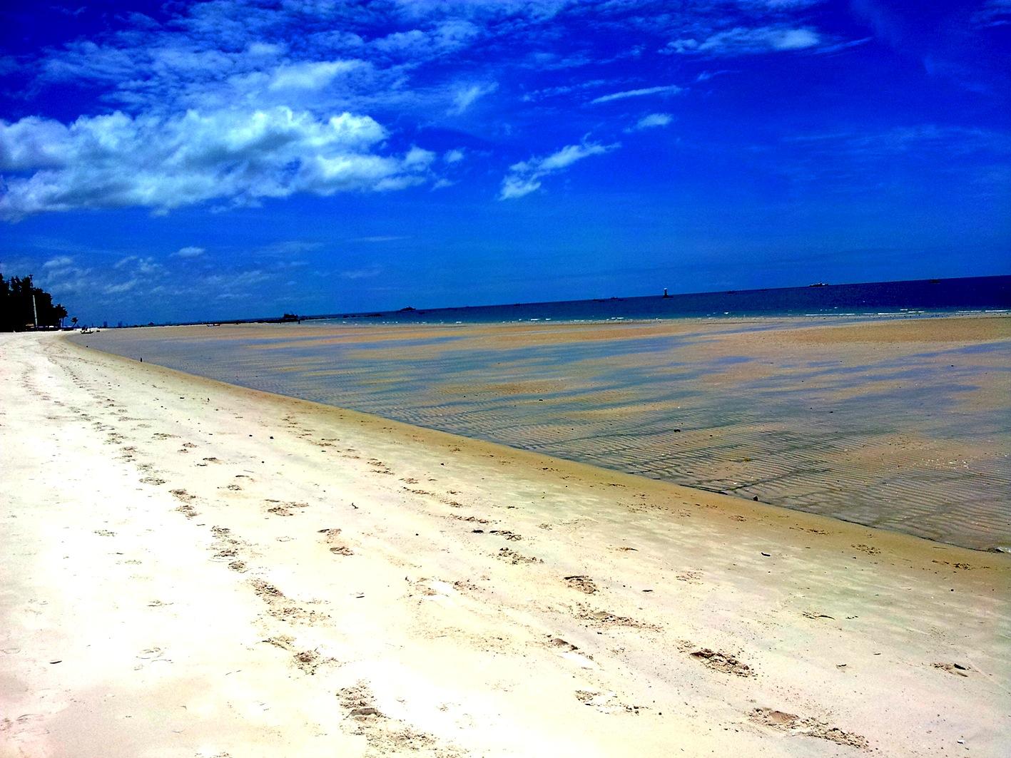 爬格子的鳳凰: 【華欣海灘 Hua Hin Beach】