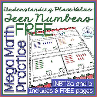 Free Making Ten Resource from Mega Math Practice