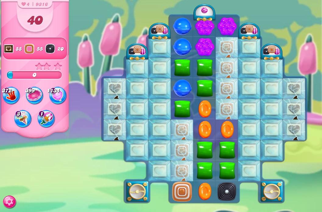 Candy Crush Saga level 9316
