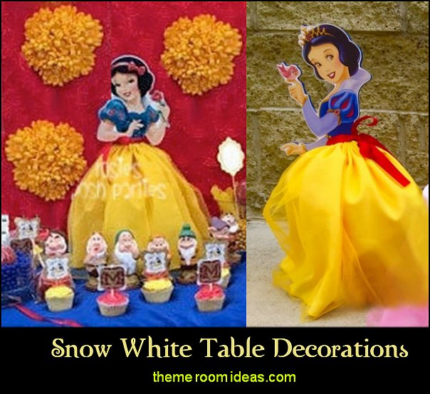 snow white table decorations snow white party table decorating snow white party